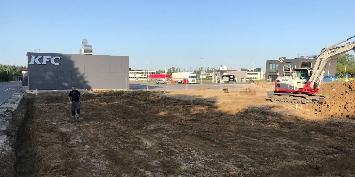 Klingenberg stod for udgravningen til Sunset Boulevard i Greve